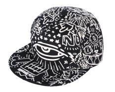 ซื้อ Niceeshop ผ้าใบขนาดใหญ่ดวงตาเรืองแสงสำหรับบุรุษสวมหมวกเบสบอลหมวก Snapback ปรับได้ง่าย ออนไลน์