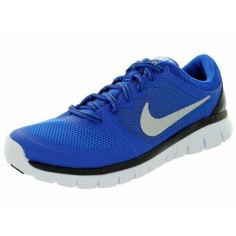 Nike (โปรดเทียบไซด์รองเท้า ตามตาราง) รองเท้าฟิตเนส รองเท้าลำลอง รองเท้าวิ่ง รองเท้าเที่ยว รองเท้าบาส รองเท้าวอลเล่ รุ่น Nike Flex Run
