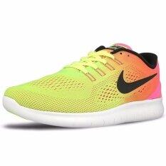 โปรโมชั่น Nike รองเท้าวิ่งผู้ชาย Nike Free Rn Oc 844629 999 Multi Color