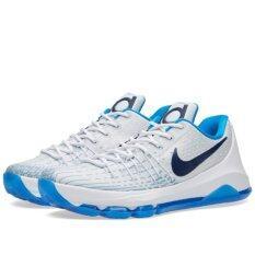 ราคา Nike รองเท้าบาส ฟิตเนส Nike Kd8 ลิขสิทธิ์แท้ สี White Photo Blue Midnight Navy เป็นต้นฉบับ
