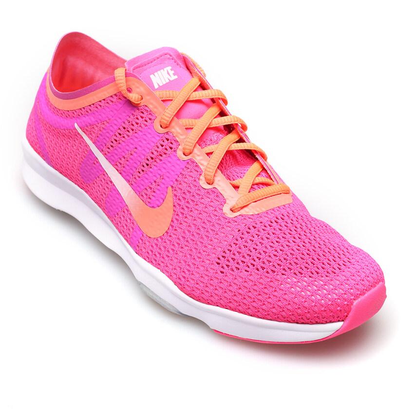 โปรโมชั่น Nike Women รองเท้าผ้าใบ ผู้หญิง รุ่น Air Zoom Fit 2 819672601 Pnk Blst Ttl Orng Fr Pnk White