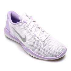 ขาย Nike Women รองเท้าผ้าใบ ผู้หญิง รุ่น Flex Supreme Tr 5 852467101 White Metallic Silver ใหม่