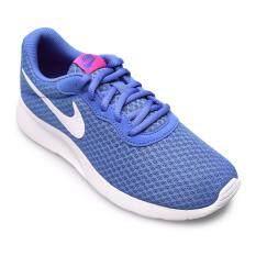 ทบทวน Nike Women รองเท้าผ้าใบ ผู้หญิง รุ่น Tanjun 812655403 Soar White Chlorine Blue Nike