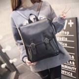 Nitta Bag กระเป๋าแฟชั่นผู้หญิง กระเป๋าสะพายหลัง กระเป๋าเป้ รุ่น Nt 023 สีดำ ใหม่ล่าสุด