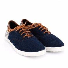 ขาย ซื้อ Special North Star รองเท้าผ้าใบ ผ้ายีนส์ แบบผูกเชือก มีลายขวางด้านหลัง รหัส 5399461