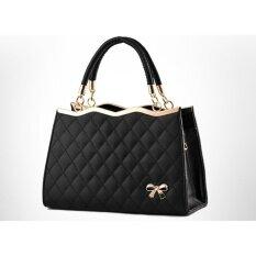 ขาย Nyb กระเป๋าถือ กระเป๋าสะพายข้างสำหรับผู้หญิง รุ่น 1724 สีดำ Nyb