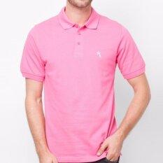 ทบทวน Oasis เสื้อโปโลชาย รุ่น Mb0001 Rp สีชมพู