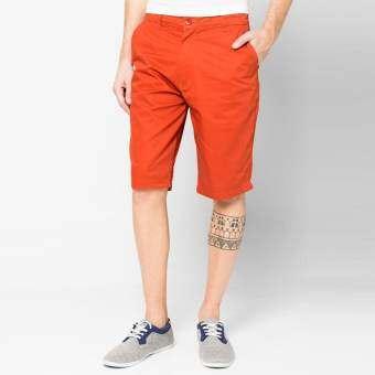 OASIS กางเกงขาสั้นชาย กางเกงขาสั้น รุ่น MCPB-8460-OR สีส้ม