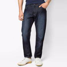 Oasis กางเกงยีนส์ชาย รุ่น Mfj8670 Nb สีน้ำเงิน Oasis ถูก ใน ไทย