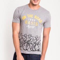 ราคา Oasis เสื้อยืดแฟชั่น T Shirt รุ่น Mtc1342 Gm สีเทา Oasis ออนไลน์