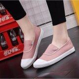 ขาย Ocean New Ladies Fashion Flat Shoes Han Edition Canvas Shoes Pink Intl ออนไลน์ จีน