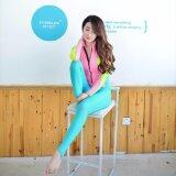 ซื้อ Ocean New Lady Conjoined Diving Suit Long Sleeve Prevent Bask In A Bathing Suit Pink Intl ออนไลน์