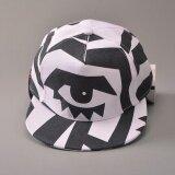 ราคา Ocean New Men Fashion Hats Han Edition Unisex Hip Hop Flat Edge Motion Baseball Cap Black And White Intl ใหม่ล่าสุด