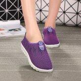 ซื้อ Ocean รองเท้าแตะรองเท้าลื่นผู้หญิงกีฬารองเท้ารองเท้าลำลอง สีม่วง นานาชาติ ถูก ใน จีน