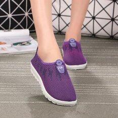 โปรโมชั่น Ocean รองเท้าแตะรองเท้าลื่นผู้หญิงกีฬารองเท้ารองเท้าลำลอง สีม่วง นานาชาติ Unbranded Generic