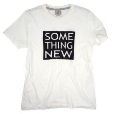 ซื้อ Octo Tokyo เสื้อยืดคอกลม Cotton Some Thing New White ออนไลน์ ถูก