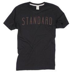 ราคา Octo Tokyo เสื้อยืดคอกลม Cotton Standard Black ไทย