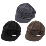 Oh Fashion Unisex Women Men Casual Baseball Outdoor Sun Peaked Hat Cap Gift Dark Grey ใหม่ล่าสุด