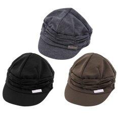 ราคา Oh Fashion Unisex Women Men Casual Baseball Outdoor Sun Peaked Hat Cap Gift Dark Grey ที่สุด