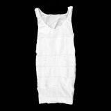 โปรโมชั่น Oh Men Body Slimming Tummy Shaper Belly Underwear Shapewear Waist Girdle Shirt White ใน จีน