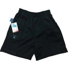 Oic Sport กางเกงวอร์มเด็ก ขาสั้น / เด็ก- 888 (สีดำ) Xs-Xxl.