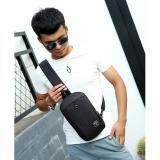ราคา Ok กระเป๋าสะพายไหล่ กระเป๋าคาดอก มีช่องใส่หูฟัง กันน้ำ รุ่น 1100 สีดำ ออนไลน์