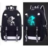โปรโมชั่น กระเป๋าเป้ผู้ชาย เรืองแสง สีดำ ลายOnepiece2 กรุงเทพมหานคร