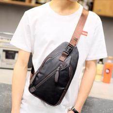 ขาย Osaka กระเป๋าคาดอก สะพายไหล่ หนังPu รุ่น Ne212 สีดำ