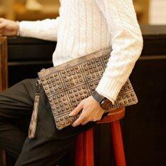 ขาย ซื้อ Osaka กระเป๋าสะพายไหล่ผุ้ชาย ถือ คล้องแขน ปักหมุดลายทหาร รุ่น Ne213 ใน ไทย