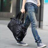 ราคา Osaka กระเป๋าสะพายไหล่ผู้ชาย หรือถือ หนัง Pu รุ่น Ng515 สีดำ ใหม่ ถูก
