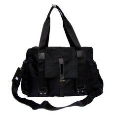ราคา Osaka กระเป๋าสะพายไหล่ผู้ชาย หรือถือ รุ่น Ng502 Black ราคาถูกที่สุด