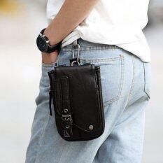 ราคา Tokyo Boy กระเป๋าสะพายผู้ชาย หรือห้อยหูกางเกง แบบหนัง Pu รุ่น Ng200 สีดำ
