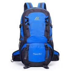 Otzi กระเป๋าเป้สะพายหลัง แบ็คแพ็ค เดินทาง ท่องเทียว กันน้ำ 40L สีน้ำเงิน ถูก