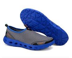 ซื้อ Outdoor Lightweight Slip Ons Wading Shoes Breathable Loafers Men Size 39 44 Dark Grey ถูก ใน จีน