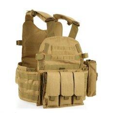 กลางแจ้งผู้ชาย Modular Vest การล่าสัตว์เกียร์โหลดเสื้อกล้าม Carrier พร้อม Hydration Pocket - Intl By Electronic Top.
