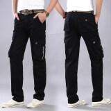 ซื้อ มายากลเพียงหมาป่ามิ ย ลำลองกางเกงกลางแจ้งโค้ตกางเกงชายหลวมตรง 8010 สีดำ ใน ฮ่องกง