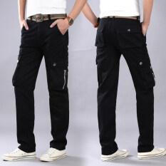 ขาย มายากลเพียงหมาป่ามิ ย ลำลองกางเกงกลางแจ้งโค้ตกางเกงชายหลวมตรง 8010 สีดำ ออนไลน์ ใน ฮ่องกง