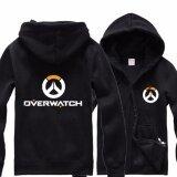 โปรโมชั่น Overwatch Symbol Game คอสเพลย์ Coat แจ็คเก็ต Casual เสื้อกันหนาว Hoodie Men S Coat Collection สีดำ ฮ่องกง
