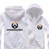 ขาย Overwatch Symbol Game คอสเพลย์ Coat แจ็คเก็ต Casual เสื้อกันหนาว Hoodie Men S Coat Collection สีขาว ใหม่