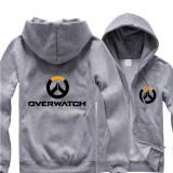 ราคา Overwatch Symbol Game Cosplay Coat Men S Women S Jacket Casual Sweatshirt Hoodie Coat Collection Grey Intl ใน จีน