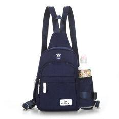 ราคา กระเป๋าเป้ผ้าออกซ์ฟอร์ด แฟชั่น ไซส์มินิ สไตล์สาวเกาหลี สีน้ำเงินเข้ม สีน้ำเงินเข้ม Unbranded Generic ฮ่องกง