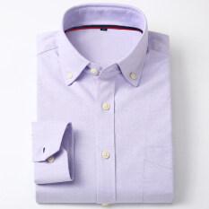 ราคา เสื้อเชิ้ตผู้ชายสีขาว ยี่ห้อYibin สไตล์เกาหลี แขนยาว 5 แขนยาว 5 ใหม่