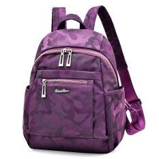 ขาย ใหม่กันน้ำไนลอนนักเรียนกระเป๋านักเรียนผู้หญิงกระเป๋า สีม่วงอำพราง Unbranded Generic ผู้ค้าส่ง