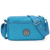 โปรโมชั่น ของ Messenger กระเป๋าเกาหลีกระเป๋าไนลอนผ้า Oxford เส้นทแยงมุม ท้องฟ้าสีฟ้า ใน ฮ่องกง