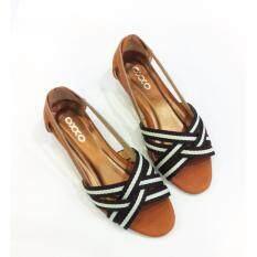 ซื้อ Oxxo รองเท้าคัทชูส์เปิดหน้า รุ่น Sm3220 สีตาล 1ไซส์จากปรกติ ออนไลน์ ถูก