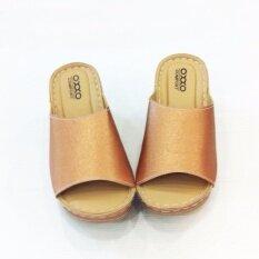 ขาย ซื้อ Oxxo รองเท้าเพื่อสุขภาพรุ่น Sm5183 สีบรอนซ์