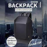 ส่วนลด กระเป๋าเป้ Ozuko รูปทรง 3D คงทนแข็งแรงใส่ของได้เยอะมีช่องซิปภายใน Notebook แฟ้มเอกสาร เสื้อผ้า โทรศัพท์มือถือ อื่นๆ สีดำ