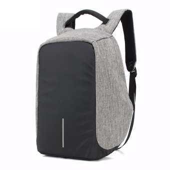 OZUKO กระเป๋าเป้นิรภัย Anti-Theft Smart Backpack พร้อม USB Port รุ่น 8798 (สีดำ-เทา)-