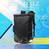 ราคา Ozuko Backpack รุ่น Oz Survivor กระเป๋าเป้แฟชั่น กระเป๋าโน๊ตบุ๊ค เป้สะพายหลัง ใส่ของได้เยอะ สีดำ Ozuko ใหม่
