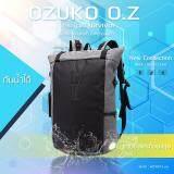 โปรโมชั่น Ozuko Backpack รุ่น Oz Survivor กระเป๋าเป้แฟชั่น กระเป๋าโน๊ตบุ๊ค เป้สะพายหลัง ใส่ของได้เยอะ สีเทา กรุงเทพมหานคร